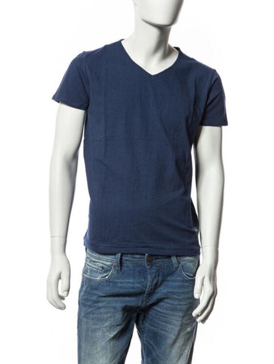 Devergo Férfi sötétkék pólók