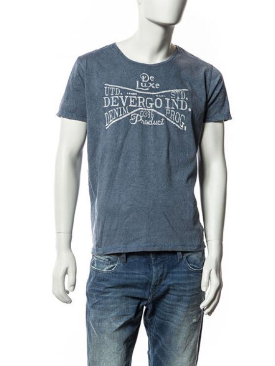 Devergo Férfi fekete pólók