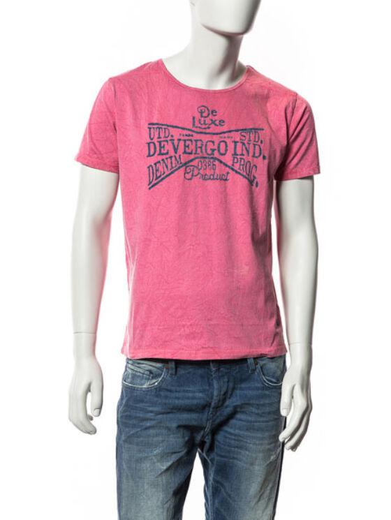 Devergo Férfi rózsaszín pólók