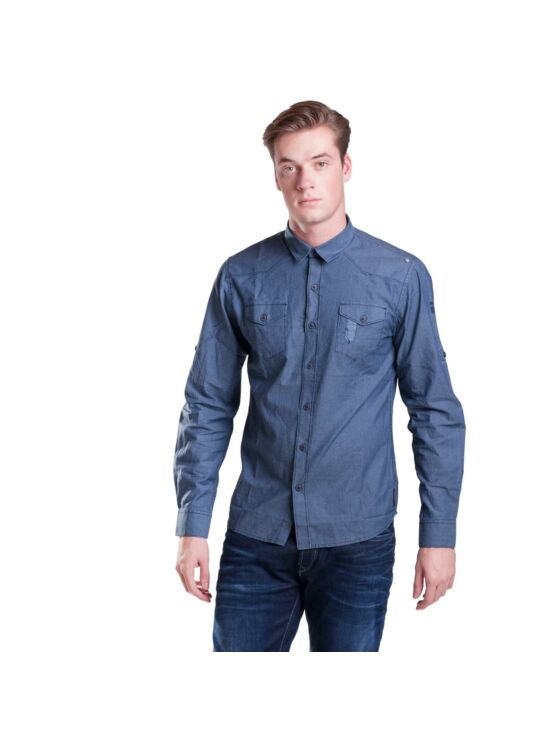 No Excess Férfi kék ingek