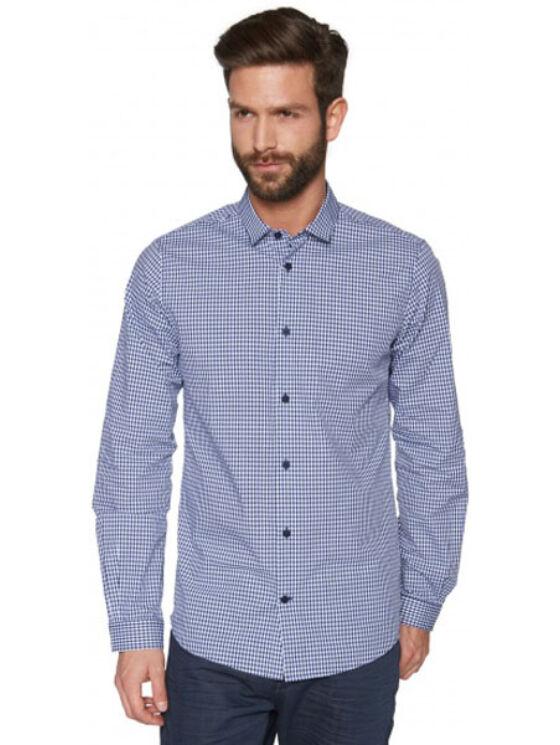 Tom Tailor Férfi sötétkék ingek