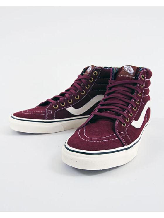 VANS Férfi bordó utcai cipők