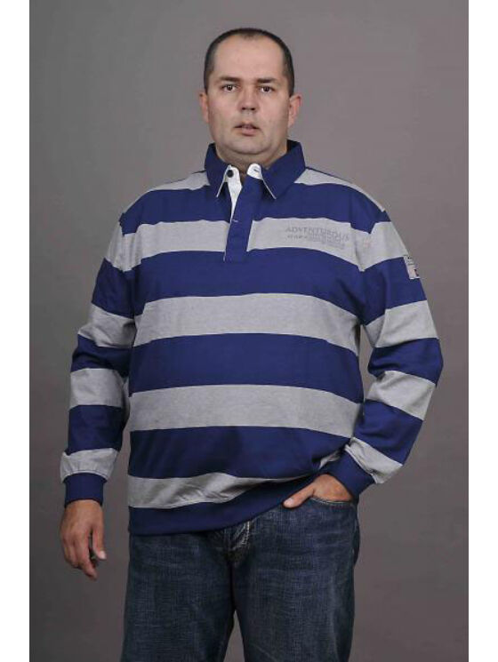 Kitaro Férfi szürke hosszú ujjú pólók