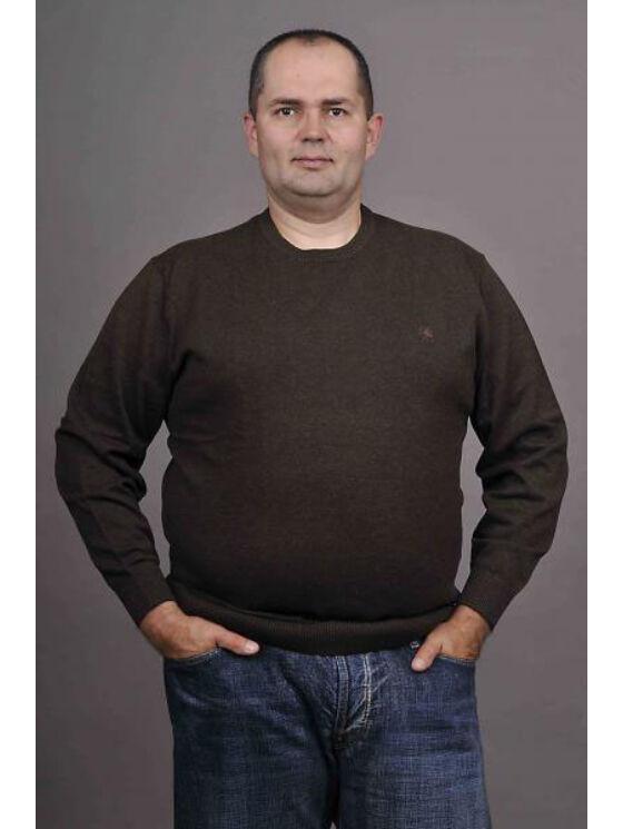 Kitaro Férfi barna pulóverek