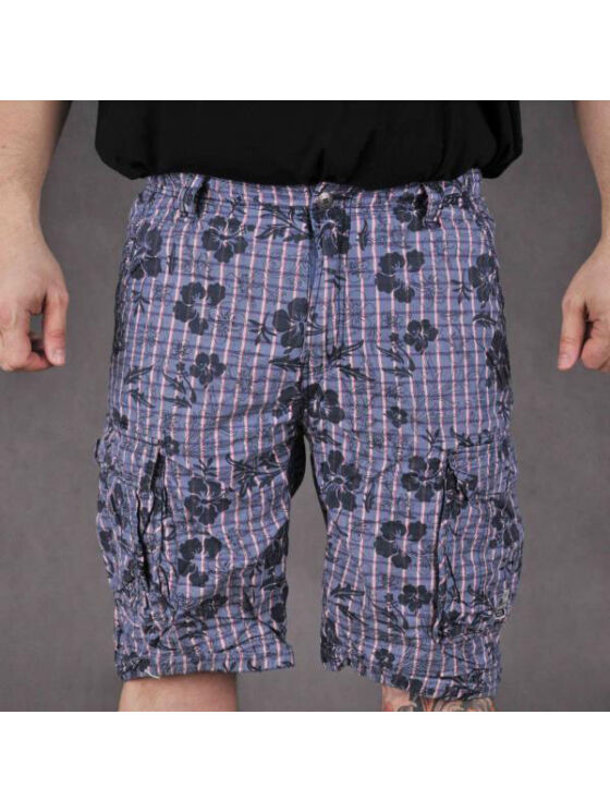 TwinLife Férfi szürke rövidnadrágok