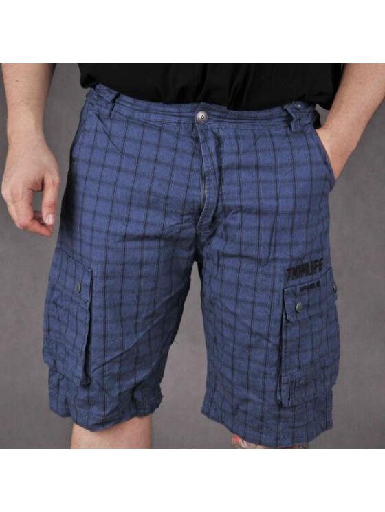 TwinLife Férfi sötétkék rövidnadrágok