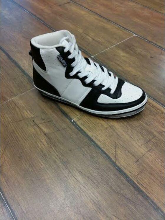 Devergo Férfi fekete alkalmi cipők